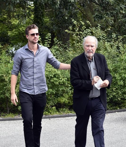 Beau en zijn vader Eric Schneider