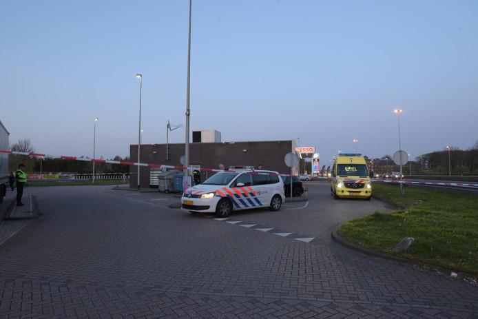 Schietpartij bij tankstation A58 Etten-Leur op 6 april 2017.