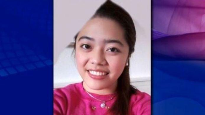 De 22-jarige Anjelie Basco au pair uit Loenen aan de Vecht die sinds 9 september is vermist.