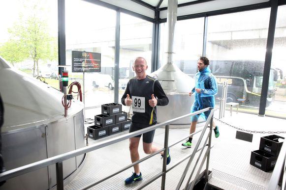 De Geuze Boon Jogging werd tijdens Toer de Geuze bij brouwerij Boon voor het eerst georganiseerd.