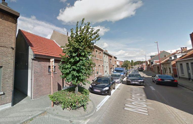 Het plantvak aan Molenstraat 71 zal verwijderd worden.