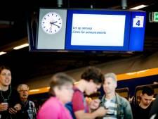 Minder treinen tussen Woerden en Vleuten door wisselstoring
