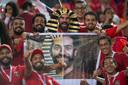 Mohamed Salah kon de hoop van het Egyptische volk niet waarmaken.