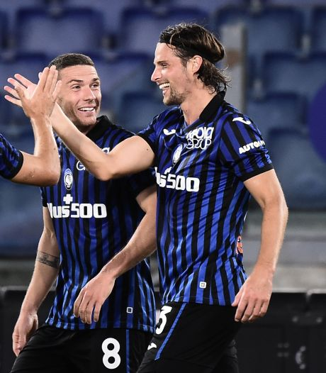 Atalanta mede dankzij goal Hateboer ruim langs Lazio