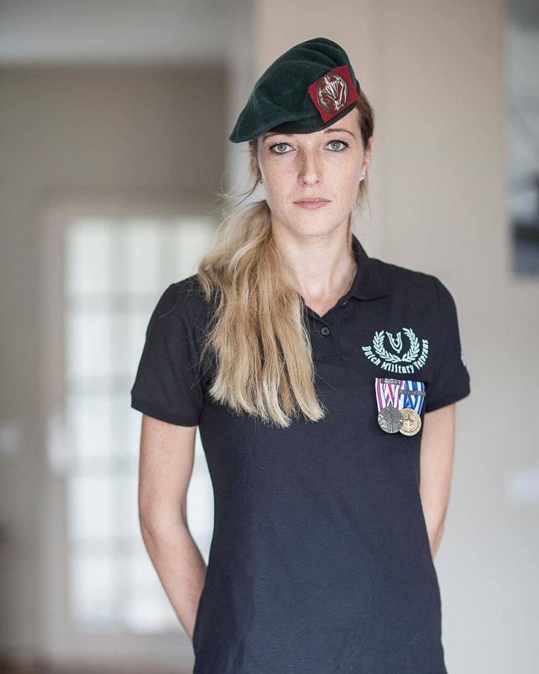 Marloes Woltjer. Beeld Harry Cock