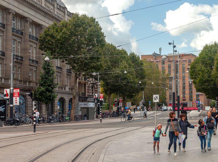 Leidseplein, 2019. Beeld Erik Klein Wolterink
