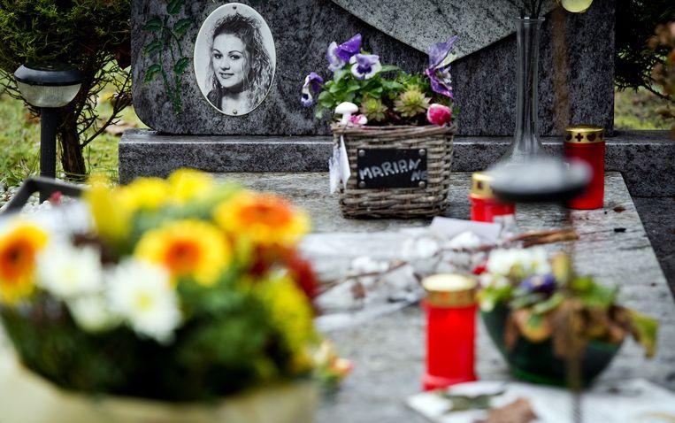 Het graf van Marianne Vaatstra Beeld ANP