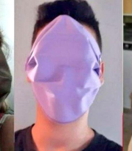 """Fiasco en Grèce: des masques """"Zorro"""" trop grands distribués aux élèves"""