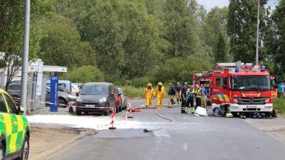 Waterstofchloride komt in riolering terecht na lek bij bedrijf op industriepark Ninove