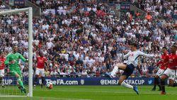 MULTILIVE BUITENLAND: Balverlies Dembélé leidt 1-1 van Man United op Wembley in tegen Tottenham