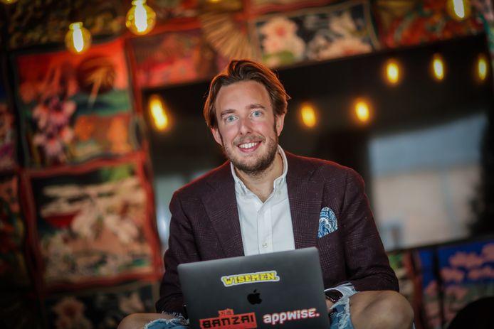 Steffen Brans van Appwise wil zijn personeel betalen met bitcoins.