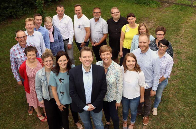 De kandidaten voor de verkiezingen van ACTIEV.