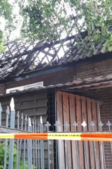 Door brand verwoeste schuur is een trekpleister in Putten