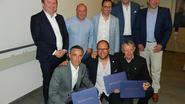 Drie bekende Eeklonaren krijgen award van Rotaryclub