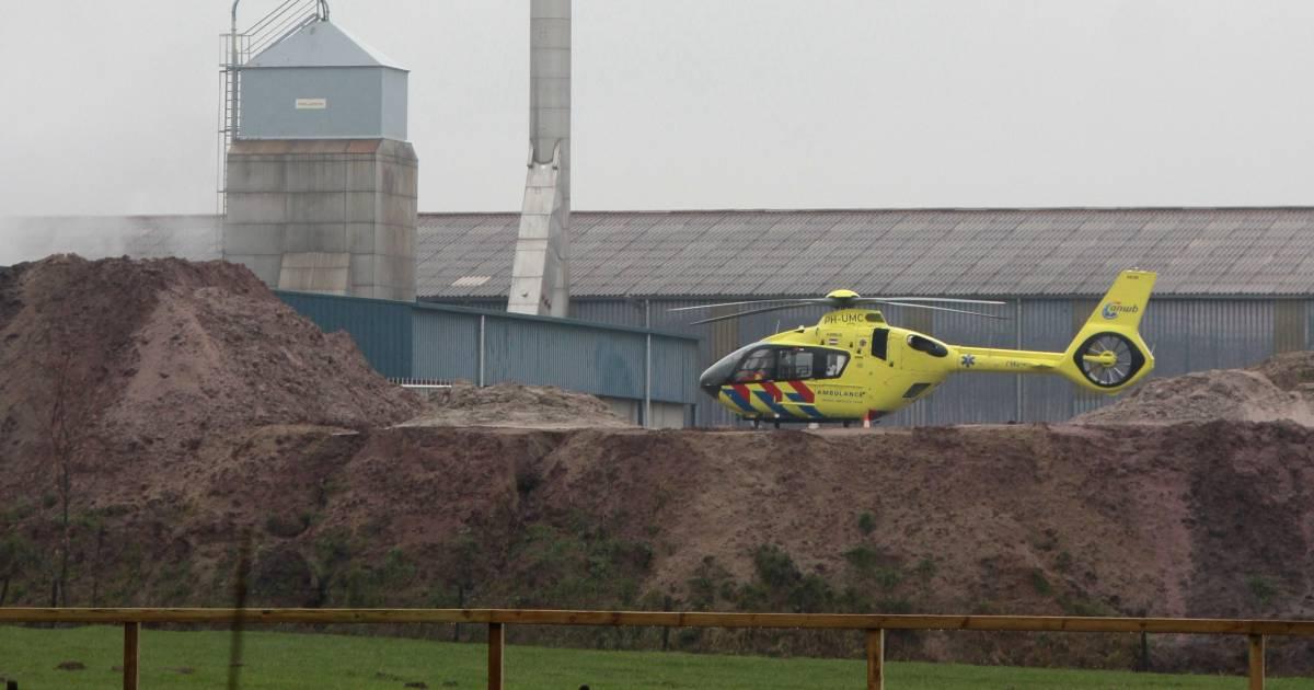 Medewerker raakt gewond bij ongeval op steenfabriek Erlecom.
