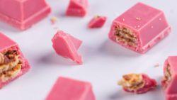De roze chocolade die een Belgisch bedrijf bedacht, is wereldwijd een enorm succes