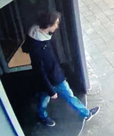 Portret van verdachte Thijs H., politiefoto die verspreid werd toen H. voortvluchtig was.