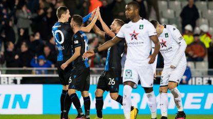 Brugge feest: Club en Cercle vieren vijftienpuntenkloof en miraculeus behoud