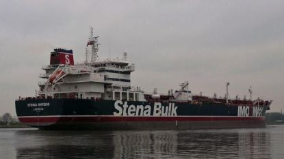 Iran neemt twee olietankers in beslag in Straat van Hormuz