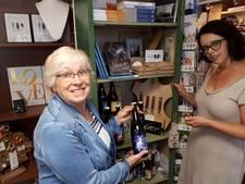 Appelflappen voor de sociale hulp bij het 'dorpspostkantoor' in Ravenstein
