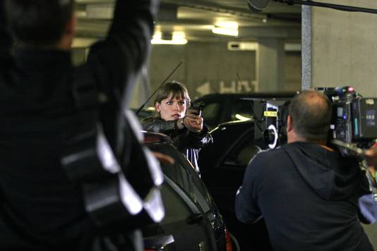 Angela Schijf als Eva van Dongen.