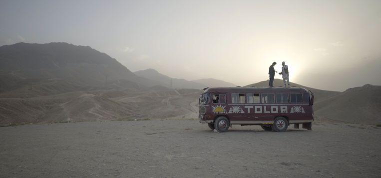 Filmbeeld uit Kabul, City in the Wind. Beeld