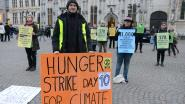 Hongerstaking van klimaatactivist eindigt met steun