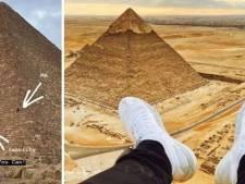 Un Instagrameur arrêté pour avoir escaladé une pyramide en Egypte