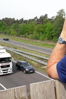 Belg scheurt met 190 km/uur over A67 bij Hapert