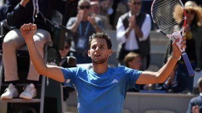VIDEO. Thiem vloert Djokovic op Roland Garros, finale is kopie van vorig jaar