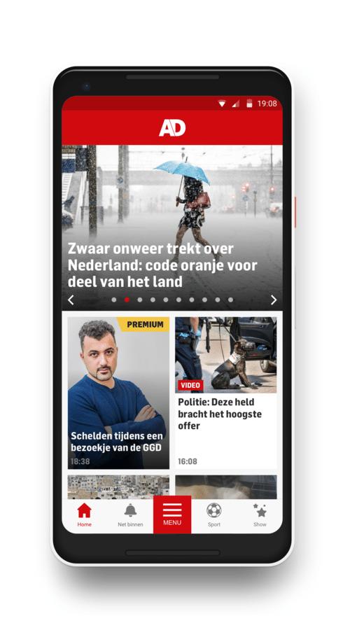 In de eerste wereld vind je al het laatste nieuws.