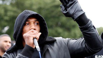 """Wereldkampioen boksen Anthony Joshua betoogt mee tegen racisme: """"Wij betogers vormen het vaccin"""""""