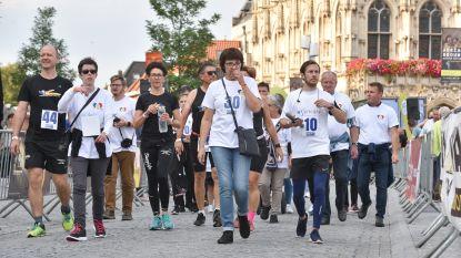 Meer dan 2.000 deelnemers lopen 50.000 euro bijeen op 24 uren van Oudenaarde