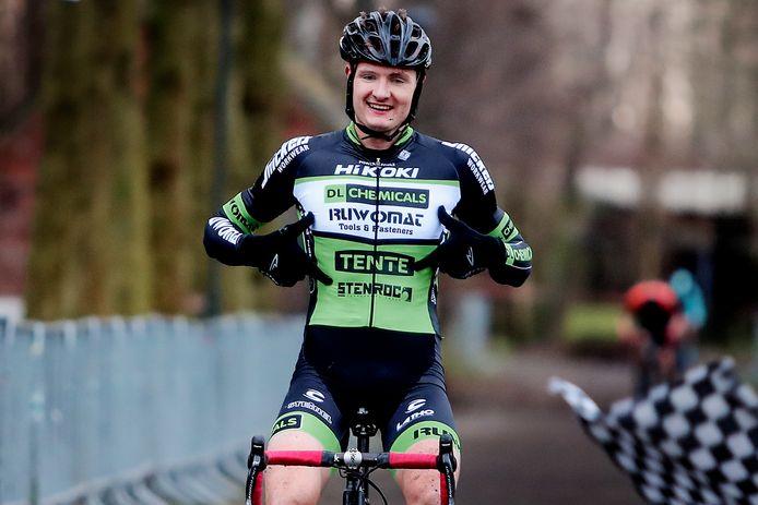Berne Vankeirsbilck zal nog een jaartje moeten wachten om zijn overwinning in Zelzate te hernieuwen.