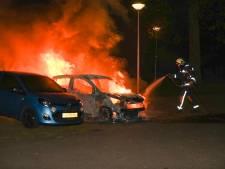 Vijftiende autobrand in een maand in Gouda: 'Geen verrassing dat onze straat aan de beurt is'