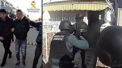 """VIDEO. """"Gevaarlijke Belgische crimineel"""" die meer dan  twintig gewelddadige overvallen pleegde, opgepakt in Spanje"""