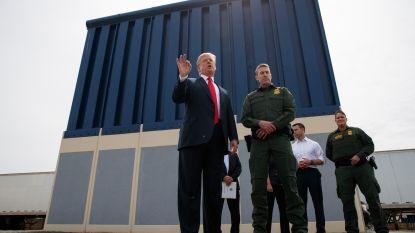 Trump vindt niet genoeg geld voor grensmuur en wil leger ervoor laten opdraaien