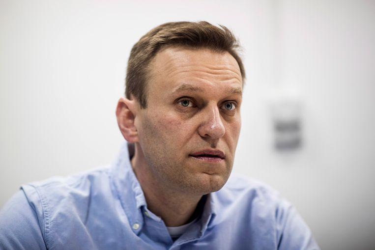Aleksej Navalny in 2018.  Beeld EPA