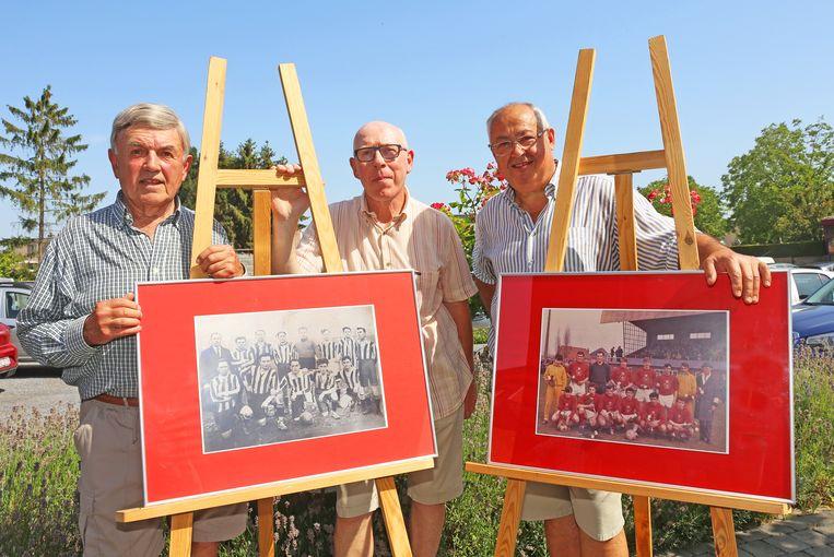 Hedwig Vertonghen, Eric Biesemans en Eddy Cooremans gaan op zoek naar de verdwenen vlag van Hoger Op Merchtem.