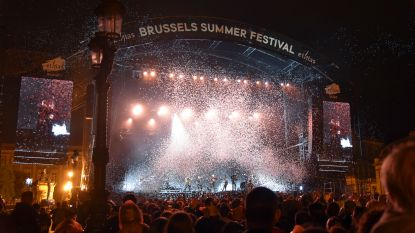 Goede start voor Brussels Summer Festival ondanks hondenweer