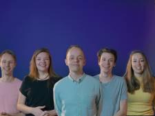 Vrienden uit Lelystad starten coronaplatform: 'Positief geluid tegen ziekte'