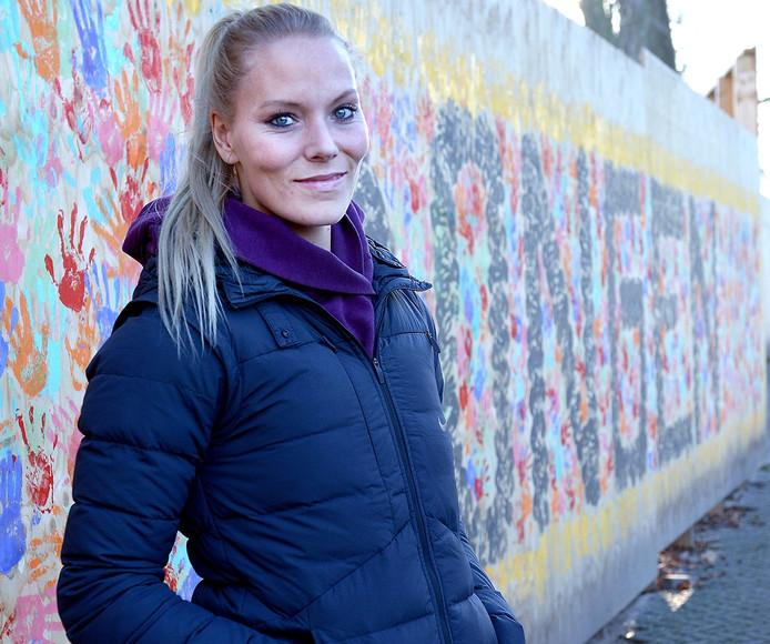 Nadine Broersen in de schoolbijlage 'Schoolkeuze 2017-2018, maandag 9 januari bij BN DeStem