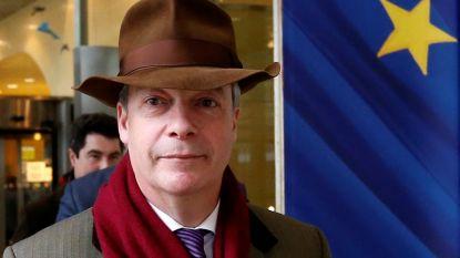 EU-parlement houdt helft salaris brexit-voorvechter Nigel Farage in na gesjoemel met Europees belastinggeld