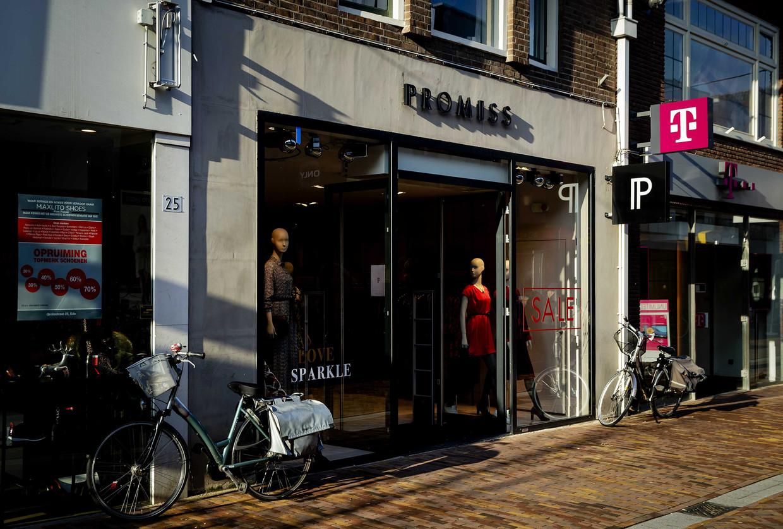 Exterieur van een Promiss winkel in het centrum van Ede.