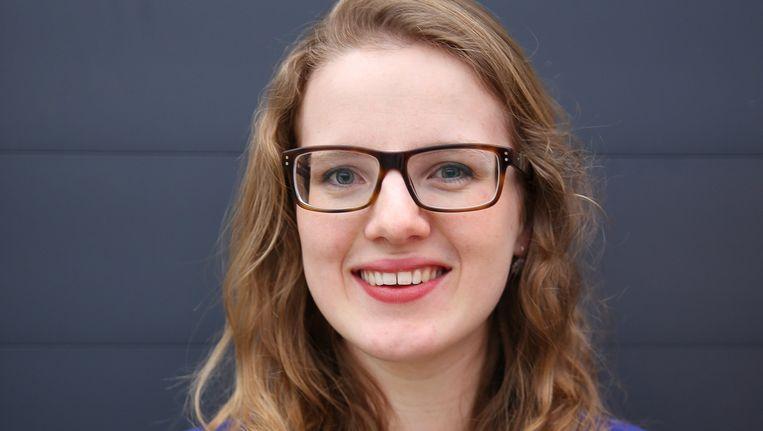 Angela van de Weg, afgestudeerd orthopedagoog, vertikt het om een werkervaringsplek aan te nemen. Beeld Trouw