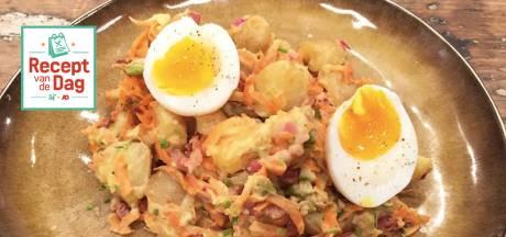 Recept van de dag: Lauwwarme aardappelsalade
