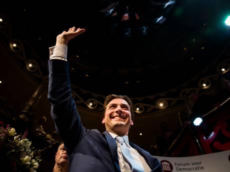 Forum voor Democratie in één klap nummer een, forse verliezen voor PVV, D66 en SP