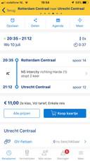 In de NS-app is het kaartje rechtstreeks te koop.