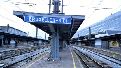 Treinverkeer tussen Gent en Brussel omgeleid door grondverzakking