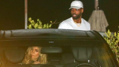 Overspel vergeten en vergeven? Khloé Kardashian en Tristan weer samen gespot